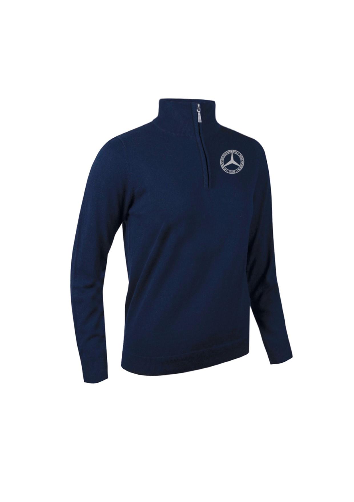 Mercedes-Benz Club Glenmuir Golf Ladies Zip Neck Sweater