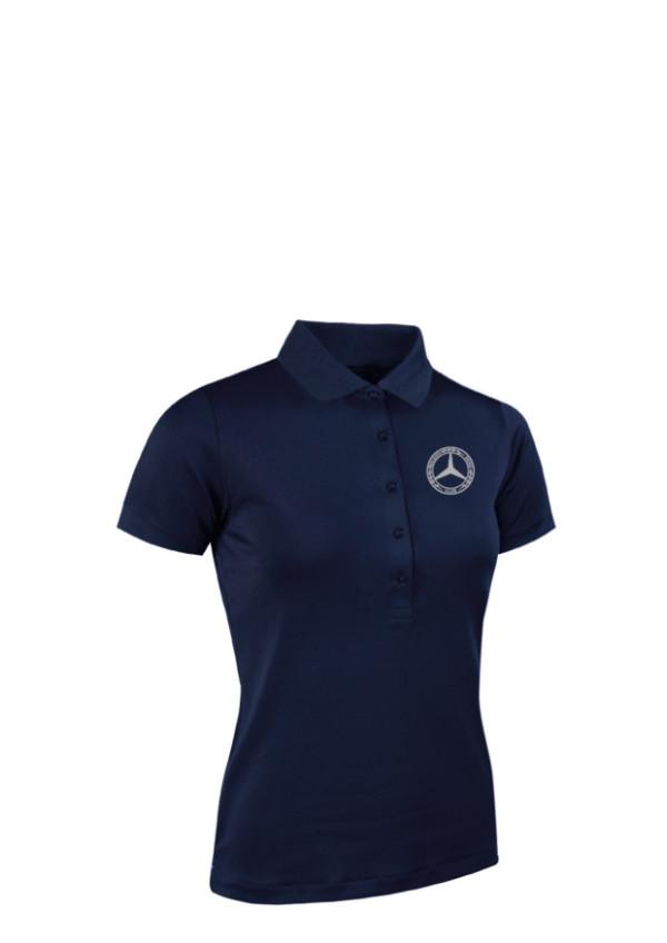 Mercedes-Benz Club Glenmuir Golf Ladies Pique Polo Shirt navy